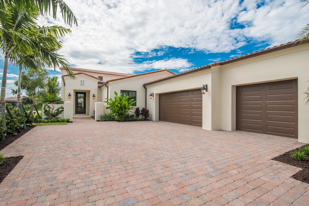 The Falerno Florida-Style Home in Lucarno at Mediterra Naples.