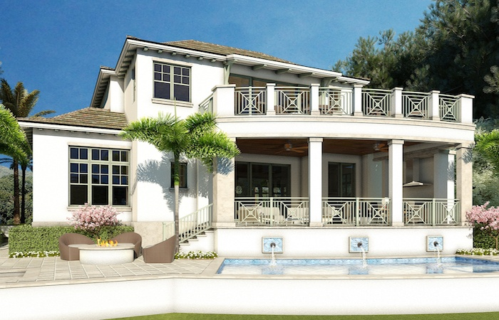 This beautiful Port Royal Naples home sold before completion.