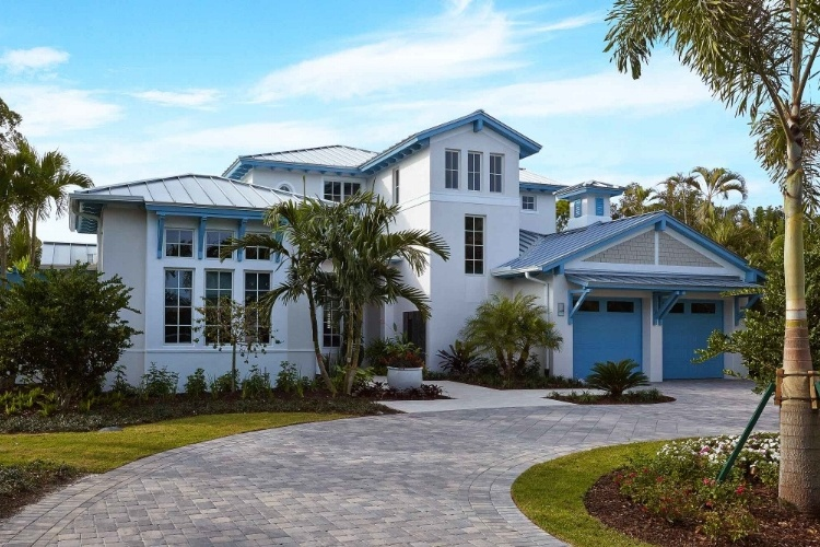 Award-Winning Naples Florida Homes - The Chelston in Old Naples