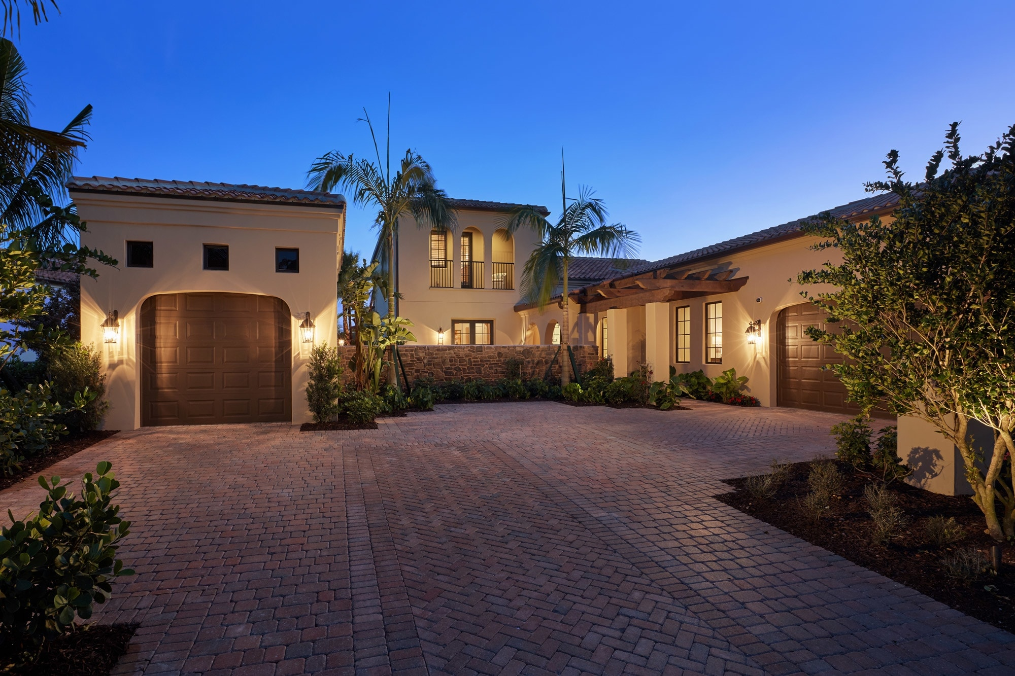 The Capriano Model Home in Lucarno at Mediterra Naples