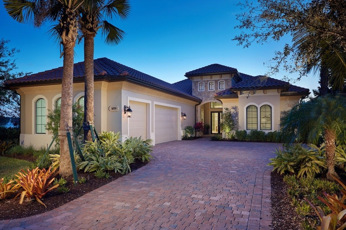 The Clara Luxury Model Home in Cabreo at Mediterra Naples