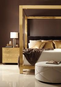 Bernhardt Kensignton Metal Canopy Bed