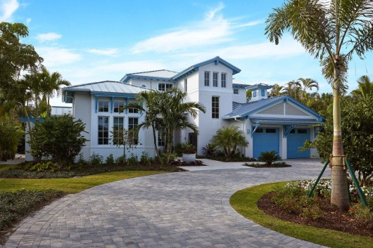 Florida Homes: The Chelston in Old Naples