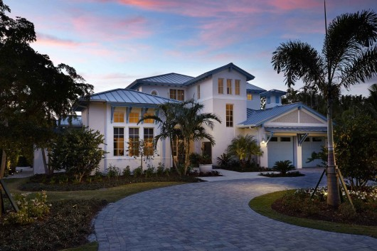Naples New Homes: The Chelston in Old Naples