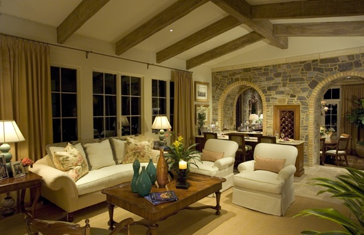 Country Club Community Living: The Chianti III Living Room