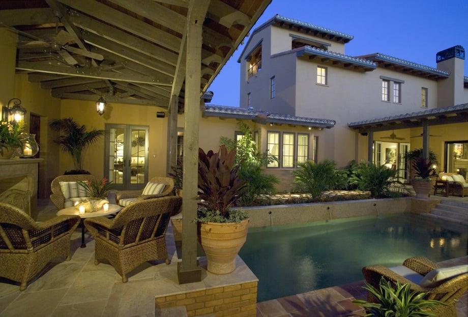 Outdoor Living: Chianti III Courtyard