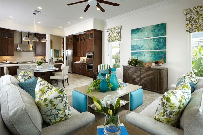 Home Design: The bright color palette of the Clara
