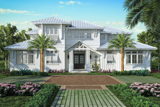 The Claremont is one of the many model homes available in London Bay Homes' Naples Collection