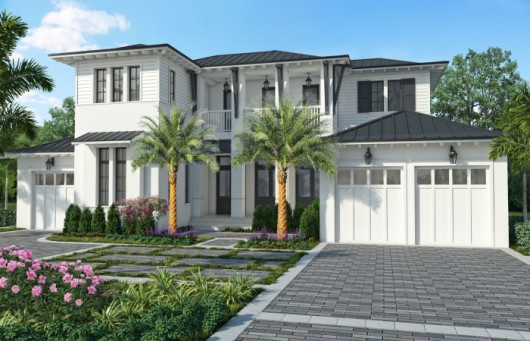 The Cloverdale's design embodies the Naples lifestyle