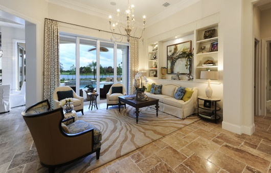 The Delfina by London Bay Homes, a Southwest Florida luxury home builder.