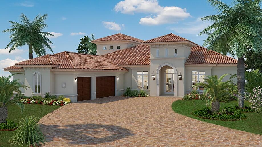 Luxury custom home: Isabella Two-Story