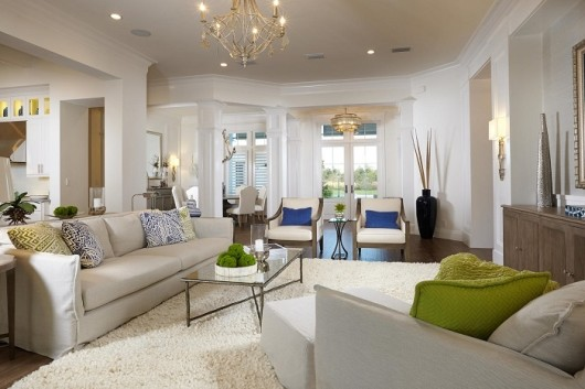Sarasota Luxury Homes: The Isabella Two-Story was designed by Romanxa Interior Design.