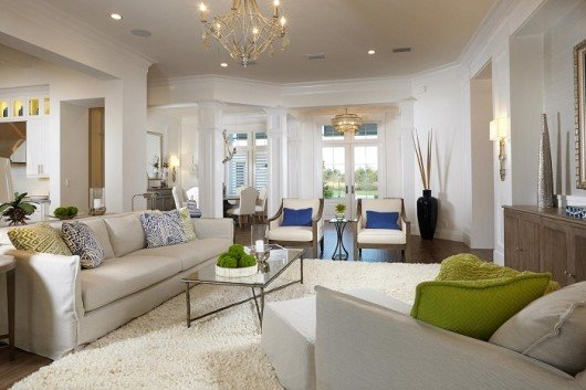 The award-winning interior design of the Isabella Two-Story