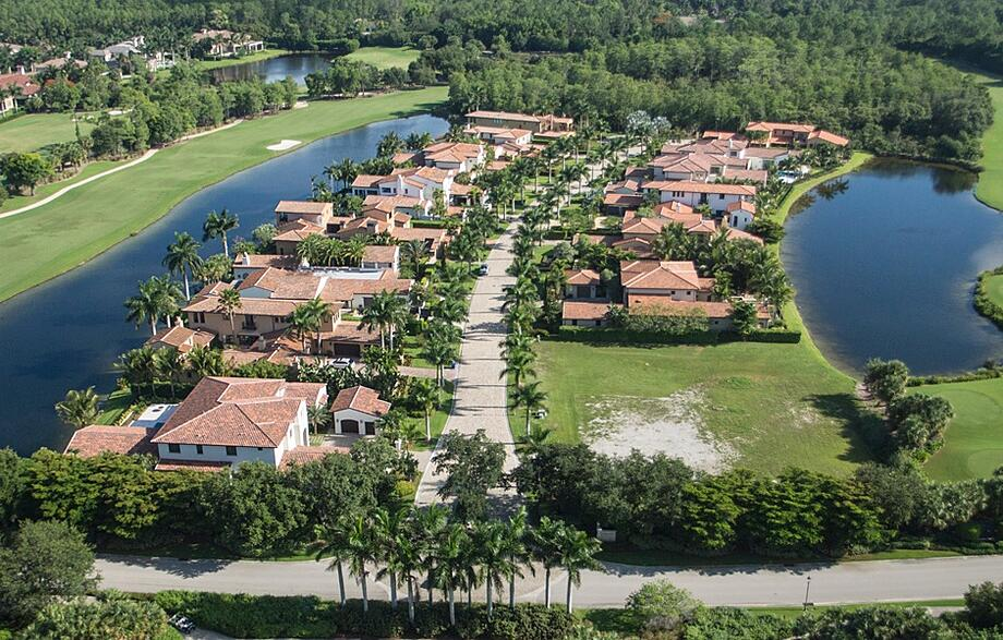 Naples Golf and Country Club Community Aerial