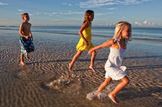 Enjoy the white sandy beaches of Southwest Florida