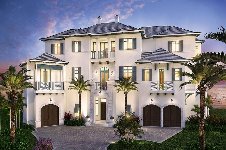 The Solymar waterfront home in Siesta Key