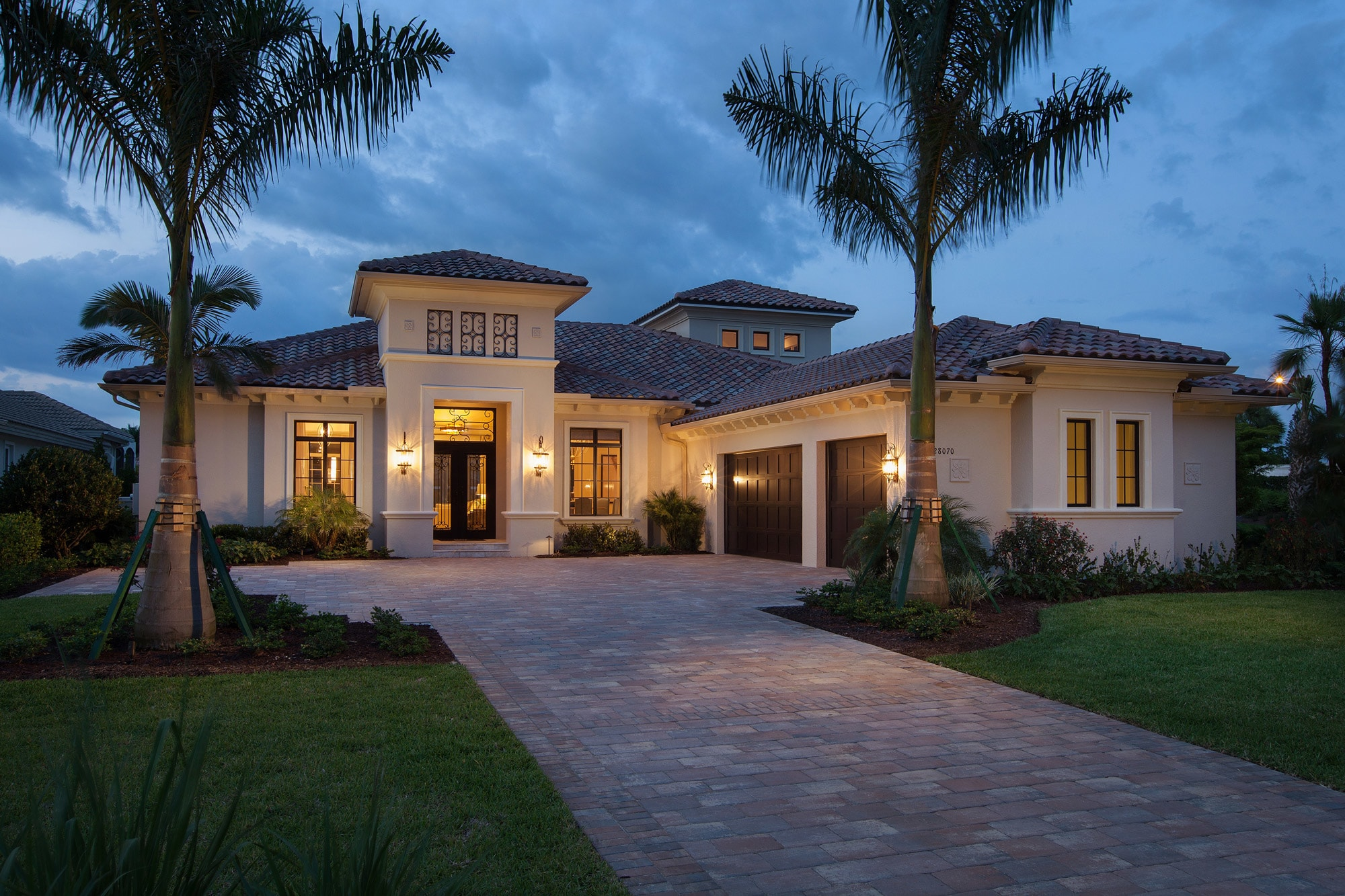 The Isabella 2-Story Luxury Model Home in Serata at Mediterra Naples