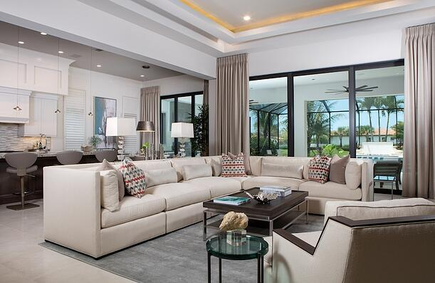 The Bettina was one of a few luxury model homes recognized for its interior design..jpg