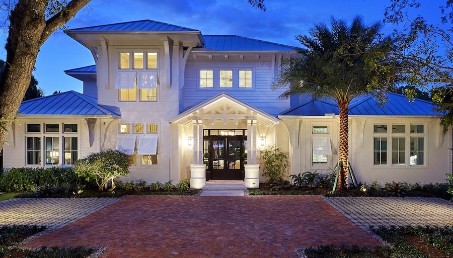 The Claremont Is One Of Three Naples Florida Luxury Homes From London Bay  That Received Awards