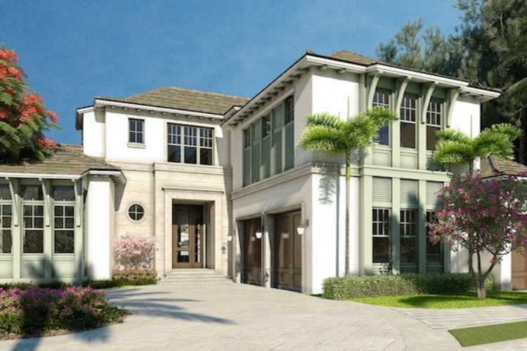 Romanza Interior Design Goes Contemporary with London Bay's New Custom Home in Port Royal Naples