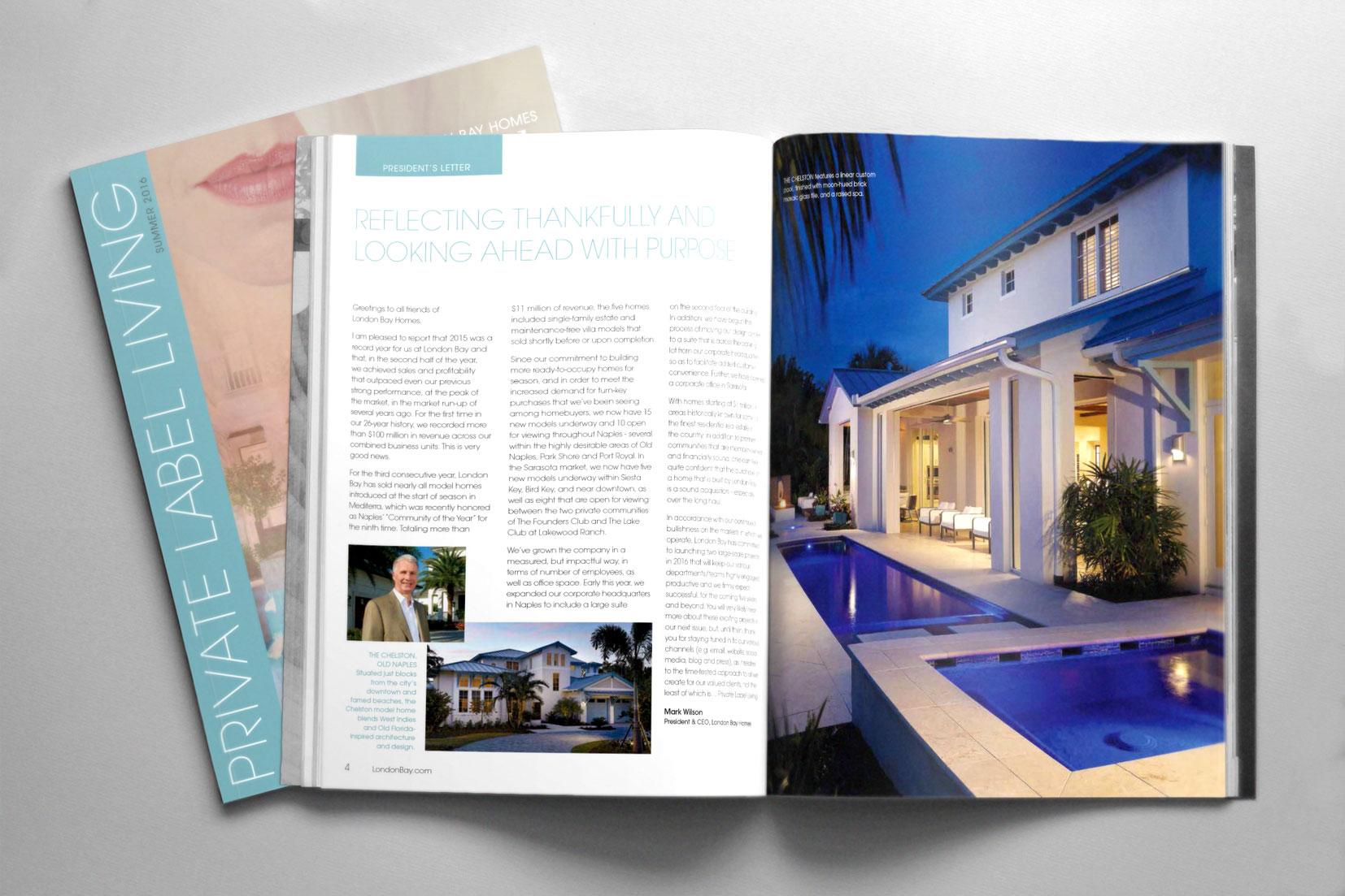 Private Label Living Magazine