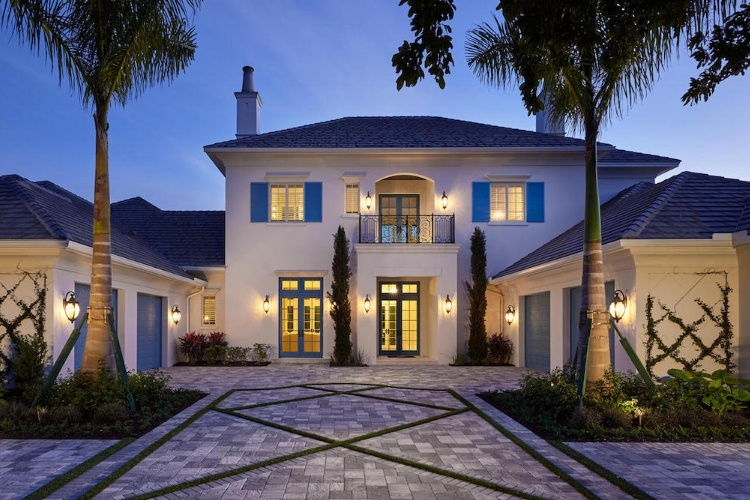 The Avignon is a custom home by London Bay Homes in Quail West Naples Florida.jpg